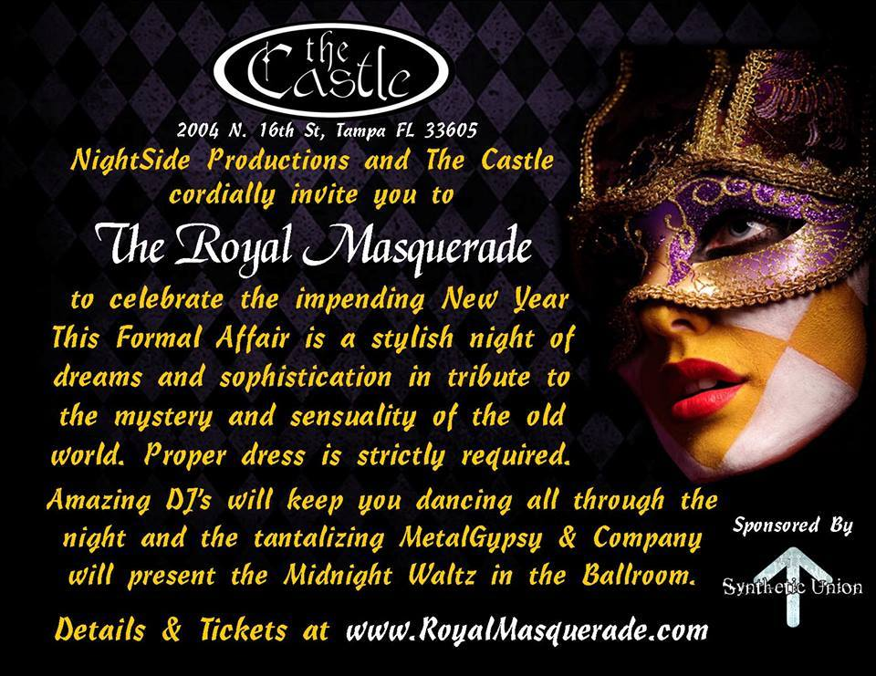 Royal Masquerade Ball – Castle Ybor