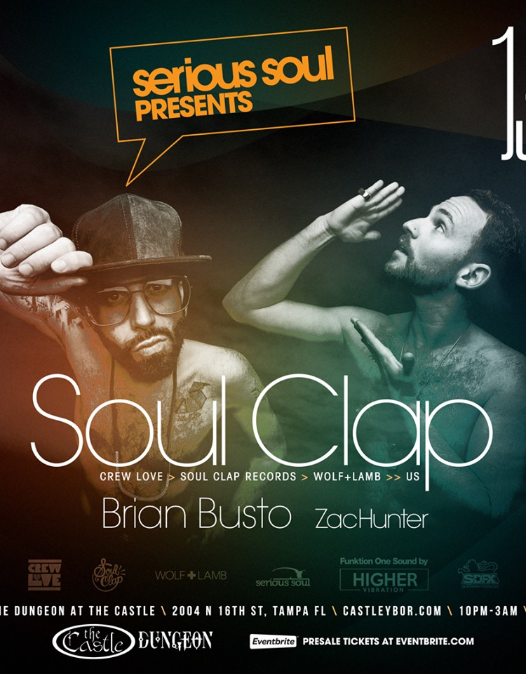 SOUL CLAP in The Dungeon – Castle Ybor